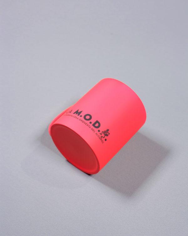 taza rosa cerámica